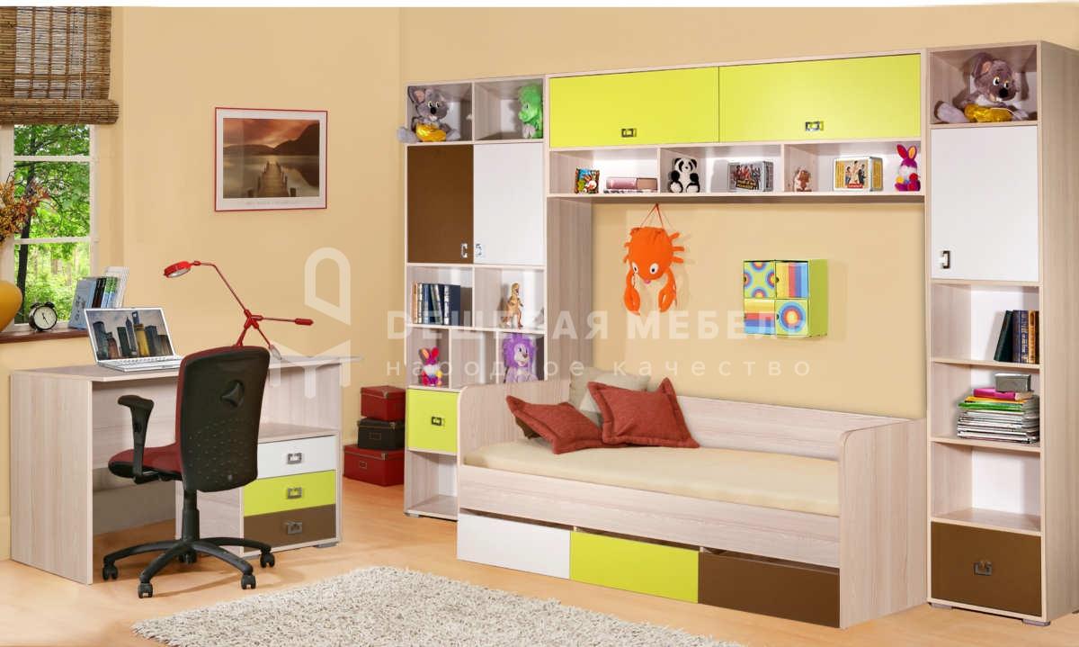 Мебель в детскую на заказ Кубик рубик арт.3
