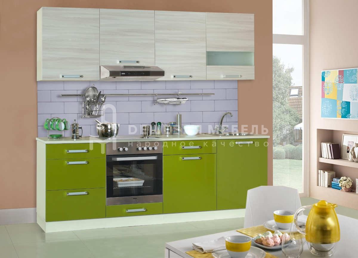 кухня шимо свет - олива 03