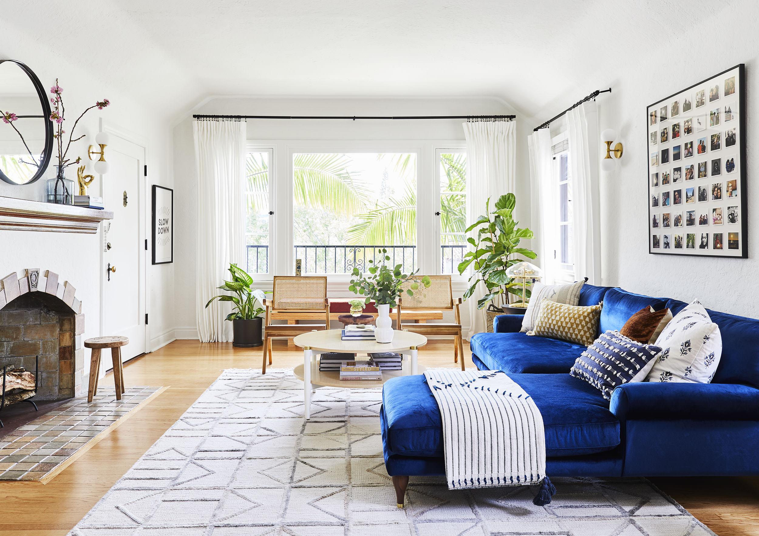 ковры в интерьере квартиры гостиная