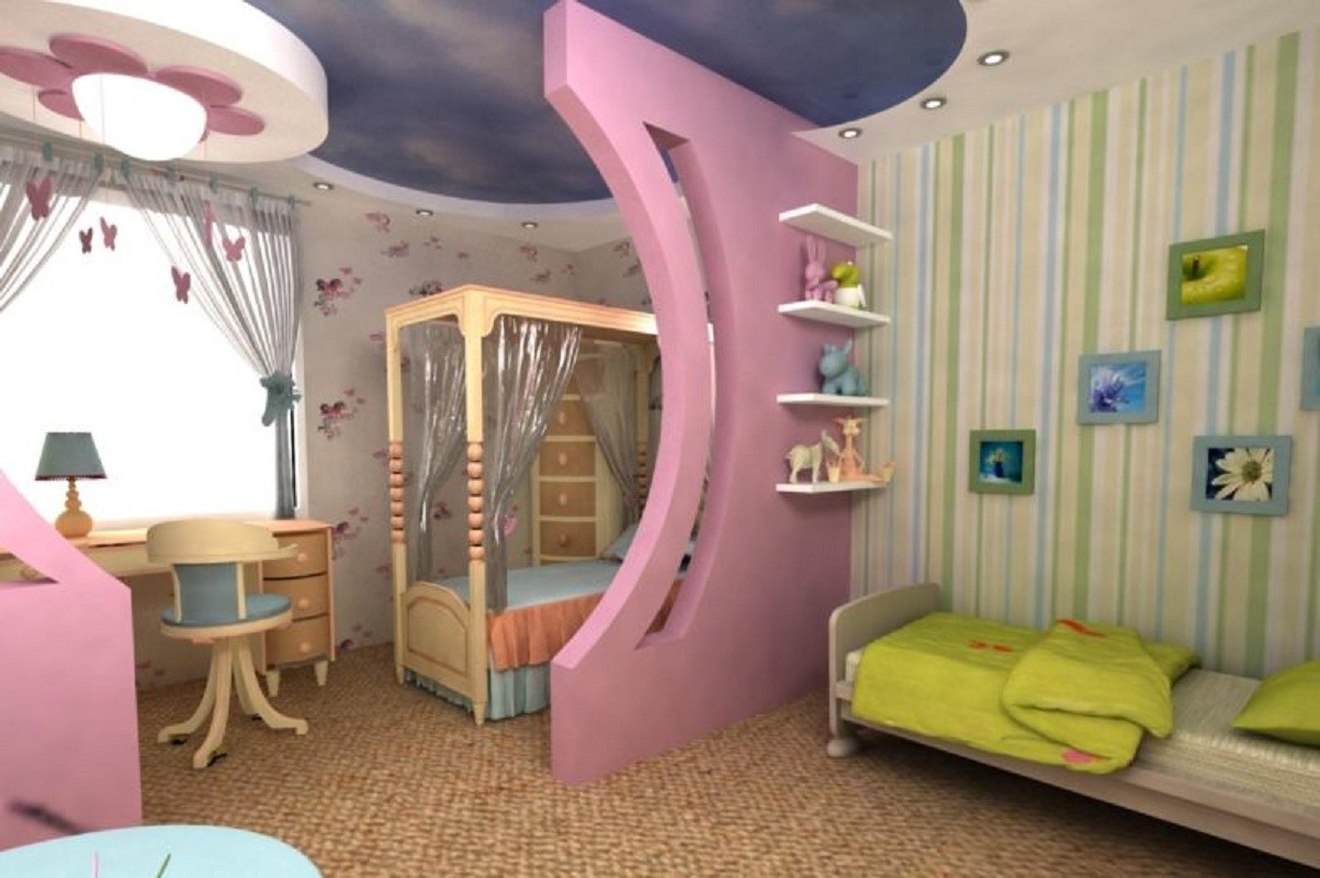 мебель для детей разного возраста