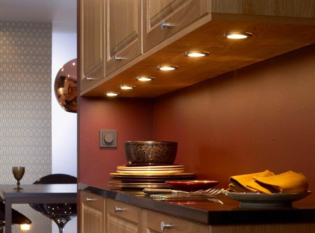 подсветка на кухне под шкафами своими руками
