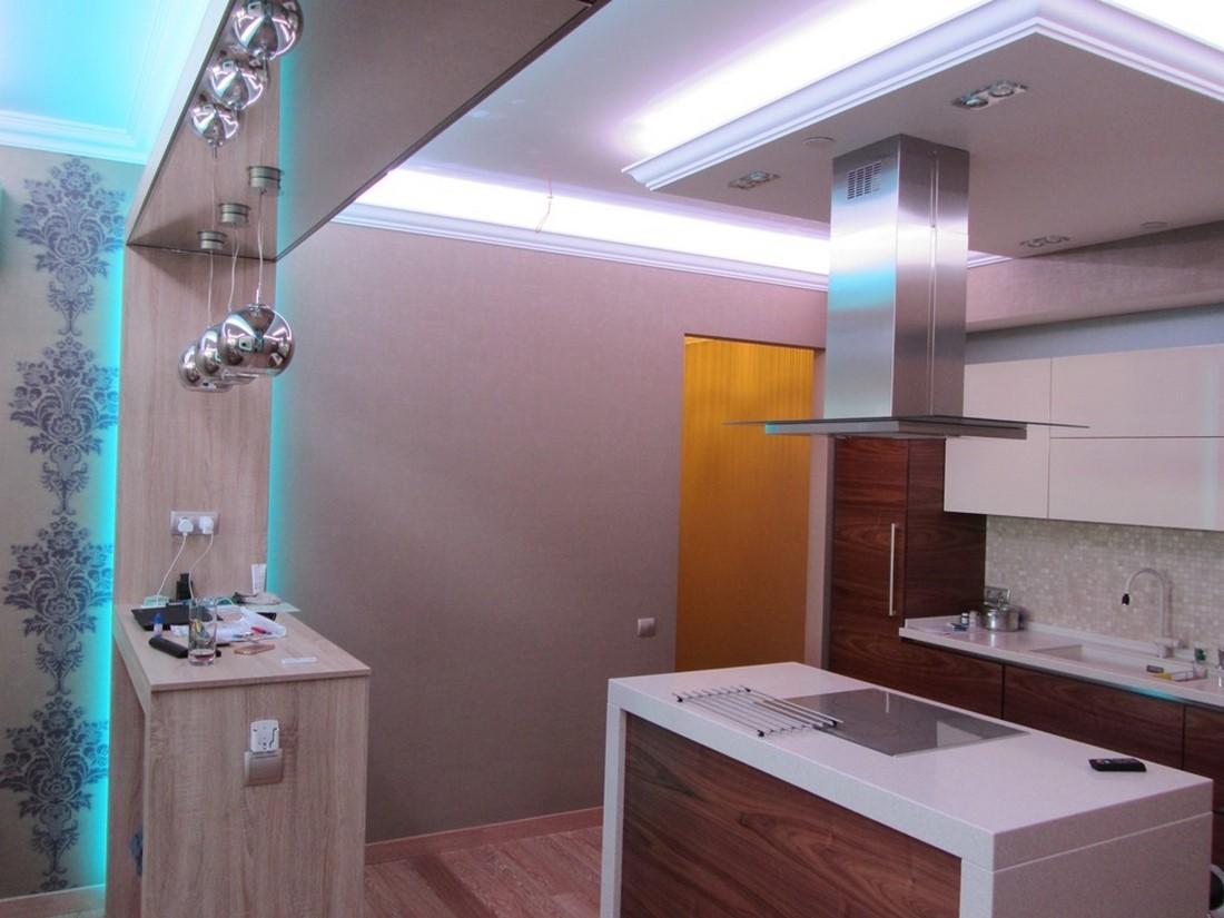какую подсветку сделать на кухню