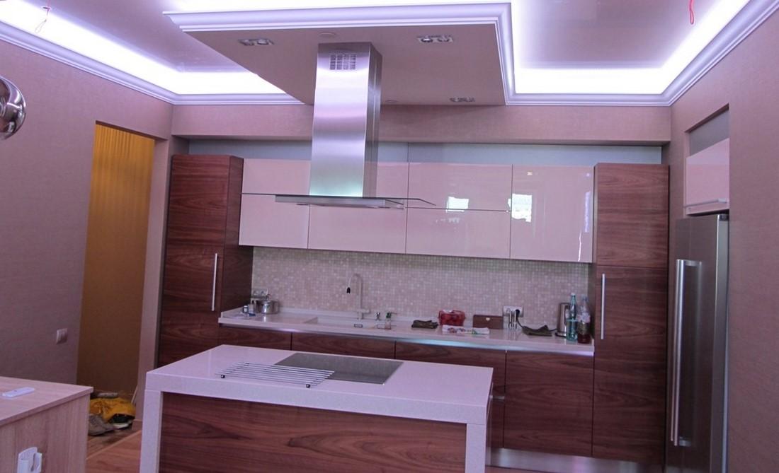 подсветка кухни под шкафами светодиодами своими руками